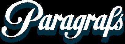 Paragrafs Logotype bilé